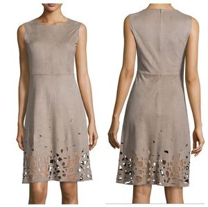 NWT! Elie Tahari Ophelia Cutout-Hem Dress
